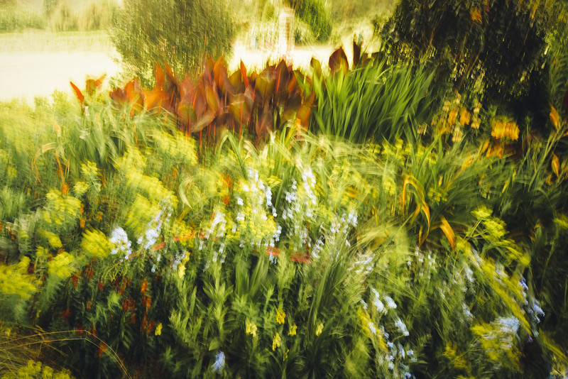 impressionist photography garden david st george abstract landscape image