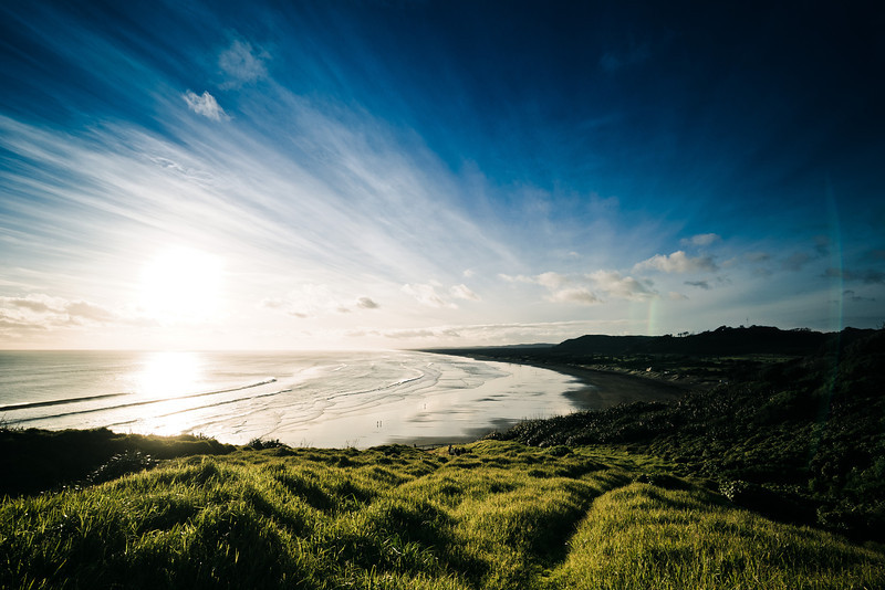 muriwai landscape photography david st george nikon d700 documentary