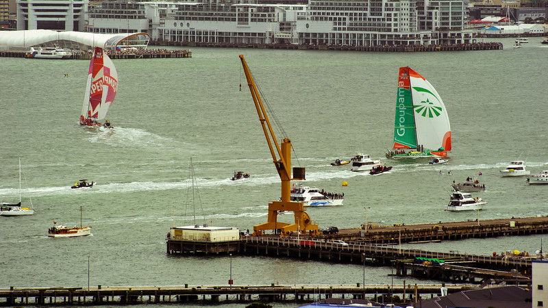 auckland in port race volvo ocean photography images david st george camper groupama puma telefonica sanya abu dhabi