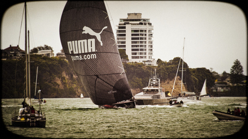 puma telefonica camper auckland finish leg volvo ocean race david st george documentary photography image nikon