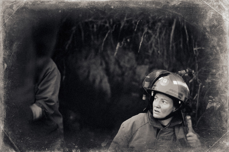 kaukapakapa rural firefighters documentary photography david st george alien skin wet plate