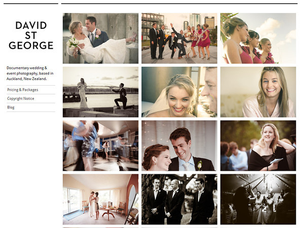 wedding portfolio images photographs david st george photography documentary